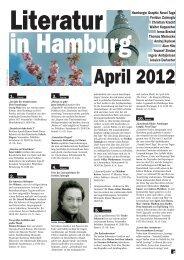 April 2012 - Literatur in Hamburg