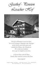Gasthof - Pension Lesacher Hof - Kitz.Net