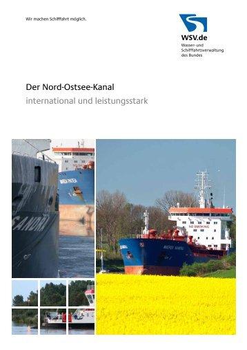 Der Nord-Ostsee-Kanal - Wasser- und Schifffahrtsverwaltung des ...