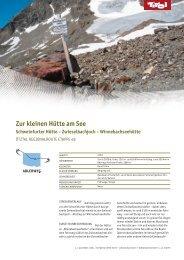 Zur kleinen Hütte am See - Tirol