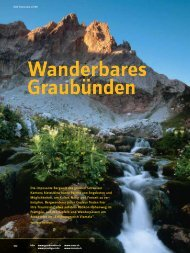 Wanderbares Graubünden