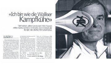 leben Jahren produziert Aldo Kuonen Seit s seine eigene ... - ak-ski