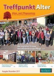 Treffpunkt Alter - Alten- und Pflegezentren des Main-Kinzig-Kreises