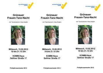FB 71 270 Grünauer-Frauen-Tanz-Nacht FS 12 - Kulkwitzer See