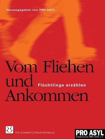 Flüchtlinge erzählen - von Loeper Literaturverlag