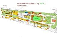 Standortliste Kindertag 2012 - Monheim am Rhein
