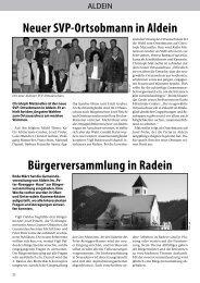 Gemeindeblatt Mai 2006
