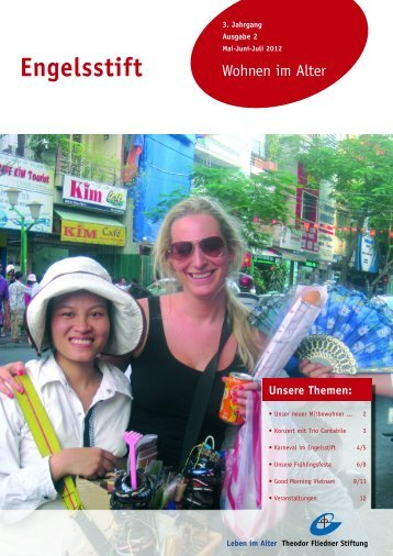 Der Engelsstift -Mai - Juni - Juli 2012 - Theodor Fliedner Stiftung