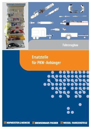 Ersatzteile für PKW-Anhänger - HOF-MEI-KO