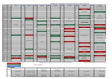 Spielplan JSG Volmerdingsen/Wulferdingsen Rückserie Spieljahr ...