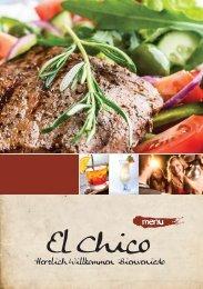 Speisekarte - El Chico Restaurant
