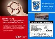 10. Ausgabe 2011/2012 - TuS Eintracht Oberlübbe e.V.