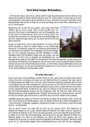 Drei Dörp hinger Birkesdörp… - Akademie för uns kölsche Sproch