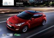 PDF Download - Preisliste Veloster - Hyundai