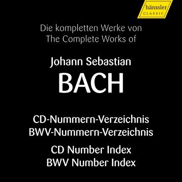 Johann Sebastian - Goodwin's High End