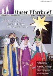 Weihnachten - Pfarren Landeck
