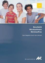 Berufsbild Bürokaufmann Bürokauffrau - AK - Tirol