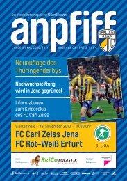 FC Carl Zeiss Jena FC Rot-Weiß Erfurt
