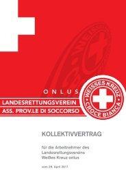 Kollektivvertrag für die Beschäftigten des Weissen ... - SGB-CISL