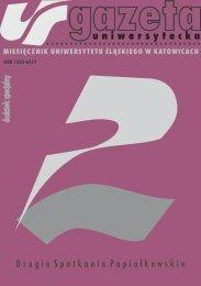 w drodze do tożsamości (górno)ślązaków - Gazeta Uniwersytecka