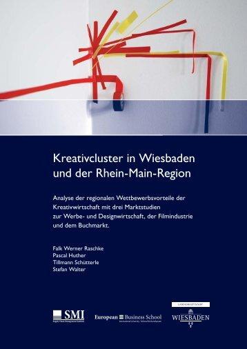 Kreativcluster in Wiesbaden und der Rhein-Main ... - IHK Wiesbaden