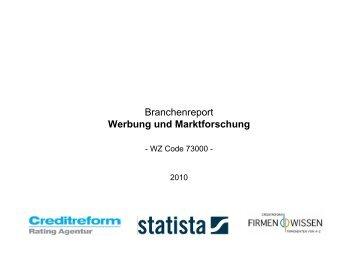 Werbung und Marktforschung - Ausbildung Werbetexter