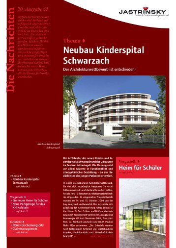 10 Ausgabe 01 - Jastrinsky GmbH & Co Kommanditgesellschaft