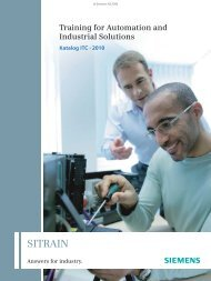 Antriebstechnik - Siemens Automation and Drives Group