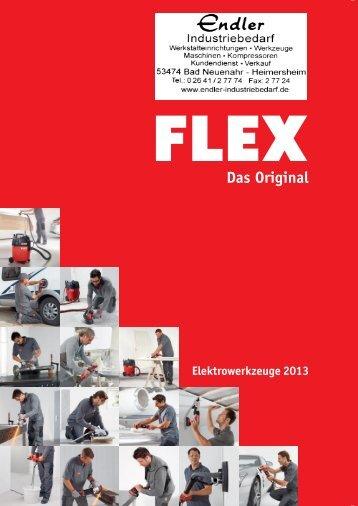 Flex Elektrowerkzeug 2013 - Endler Industriebedarf