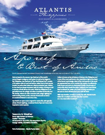 & Best of Anilao - Atlantis Dive Resorts