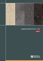 LAMINATE WORKTOPS 2011 [ 2013 - Decorative Products