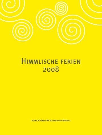 Himmlische ferien 2008 - Himmelreich