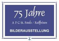 75 Jahre - AFC St. Pauls