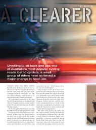 Clearer Advocacy - Beach Road Cyclist