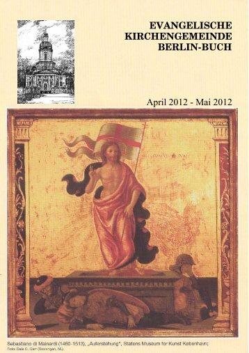 Marianne Pumb - Evangelische Kirche Berlin-Buch