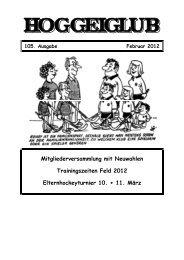 Jugend - zum HC Schweinfurt