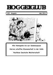 Ausgabe Mai 2011 - zum HC Schweinfurt