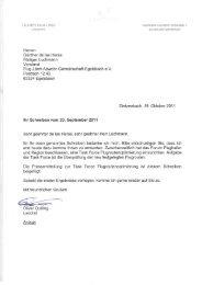 Herren Günther de las Heras Rüdiger Luchmann Vorstand Flug ...