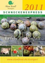 schneckenexpress - Slow Food Deutschland eV