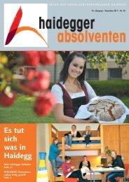 Haidegger Absolventen auf Fahrt - Fachschule für Land- und ...
