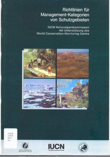 Kategorien - IUCN