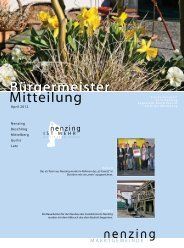 Ab Juni 2012 - Marktgemeinde Nenzing