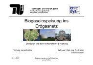 Ökonomie Technische Universität Berlin - Fachgebiet ...