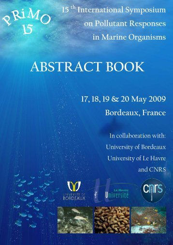 ABSTRACT BOOK - 15th International Symposium on Pollutant ...