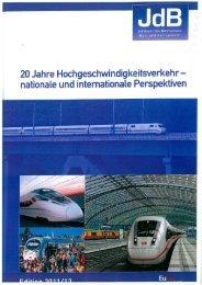 Jahrbuch des Eisenbahnwesen 2011/12 (PDF, 3,8