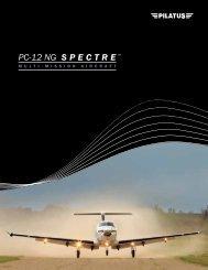 PC-12 NG SPECTRE - Pilatus Aircraft