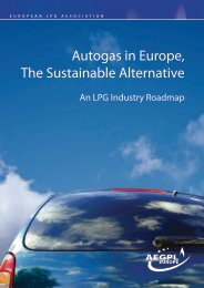 Autogas in Europe, The Sustainable Alternative - aegpl