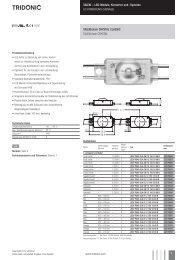 U -; Led-Module, Konverter und -Systeme LICHTWERBUNG ...