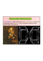 Historical Origin of Stereochemistry Louis Pasteur in 1848 noticed ...