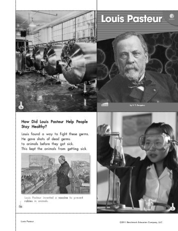 Louis Pasteur THB - Benchmark Resources - Benchmark Education ...